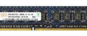 Hynix 2GB 10600E 1333MHz DDR3 ECC