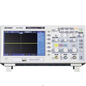 Digitális tárolós oszcilloszkóp 2 csatornás 60 MHz VGA kimenet 2 db mérőfejjel Voltcraft DSO-1062D-VGA